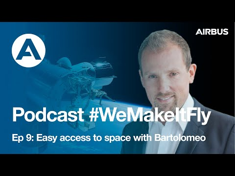 Dr. Christian Steimle: Easy access to space with Bartolomeo