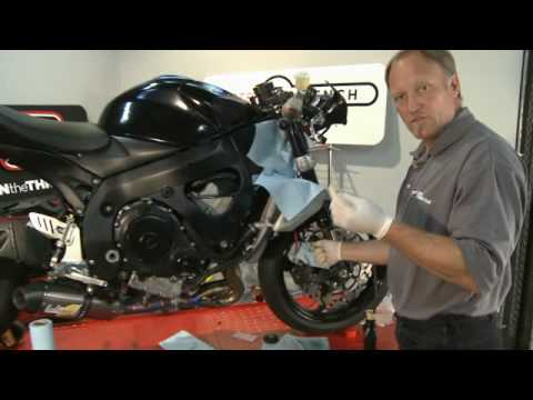 Performance Upgrades GSX-R750 Front Brake Lines