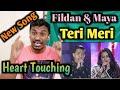Indian Reacting Duet Fildan dan Shreya Maya - Teri Meri:MANTUL MANTAP BETUL!! DA Asia 4