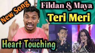 Indian Reacting Duet Fildan Dan Shreya Maya - Teri