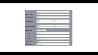 Wie erstellen Sie einen Lebenslauf Form von html-l-Curriculum Vitae-Design