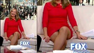 Sandra Smith - Juicy Thighs,Leg Cross and Upskirt 2-4-16