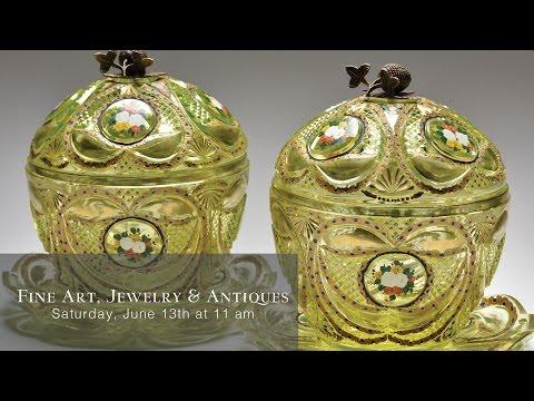 June 13 Fine Art, Jewelry & Antiques Auction