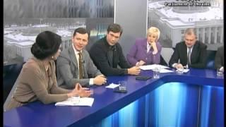 """Прямий ефір. """"Парламент"""" 04.04.13 В гостях - Ляшко"""