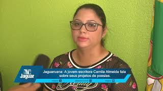 Jaguaruana: A jovem escritora Camila Almeida fala sobre seus projetos de poesias