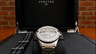 Omega Seamaster 300 SPECTRE Limited Edition James Bond 007 Watch unboxing & first impressions(Unboxing video of the Omega Seamaster 300 SPECTRE Limited Edition Watch *******UPDATE 8th November******* Full review video now available: ..., 2015-09-27T22:08:51.000Z)