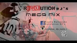 Revolution Dj's SL Sinhala Dj Hindi English Remix mega mix