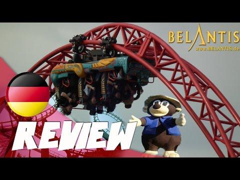 Review hammer geile Freizeitpark: Belantis, Leipzig