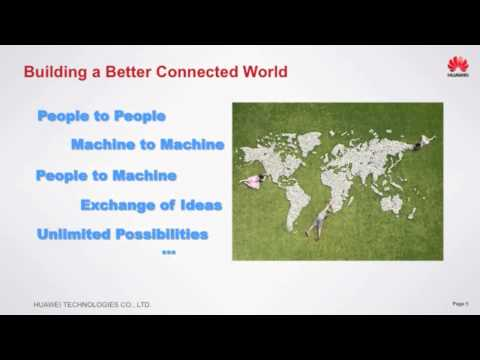 Huawei's Keynote Presentation at CCA Annual Convention—Extending Competitive Broadband to All