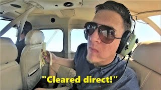 Flying Through RESTRICTED Airspace! Cessna 172 Rental Flight (with ATC)