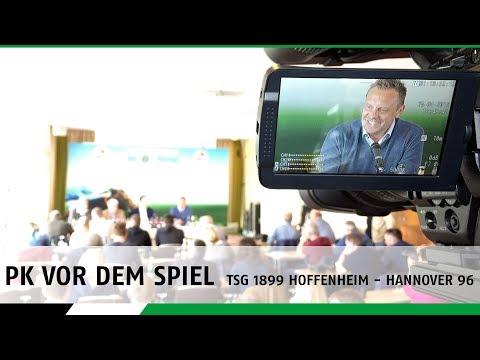 RE-LIVE | Die PK vor dem Spiel und dem 96-Renntag | TSG Hoffenheim - Hannover 96