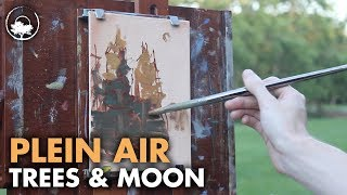 The Last Light - Plein Air Painting Adventure #08