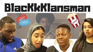 British People React/Review BLACKkKLANSMAN - Official Trailer