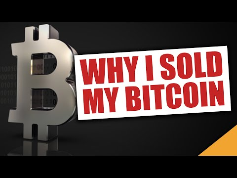 Why I Sold My Bitcoin... (BTC Crash 2020)
