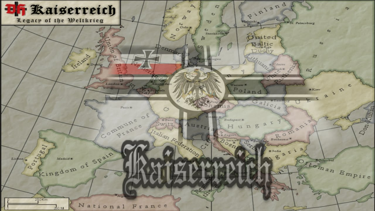Darkest Hour Mods Kaiserreich