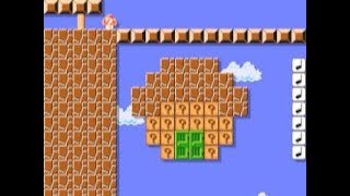 Super Mario Bros. 3 Ending 🎵 by Faxanalaur 🎵 SUPER MARIO MAKER Raw GAMEPLAY