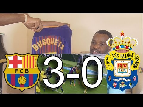 Barcelona vs Las Palmas 3-0 All Goals & Highlights: Reaction