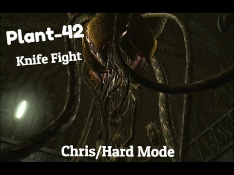 Resident evil remastered plant 42 knife fight hard mode for Plante 42 resident evil