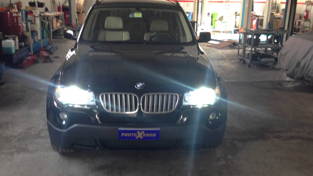 Xenon E Led Bmw X3 2 0 Youtube