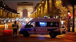 Paris police officer shot dead as election approaches