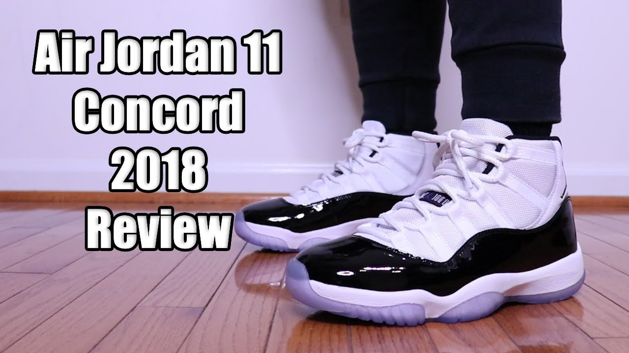 4e5d1d9a0b8884 Air Jordan 11 Concord 2018 Review and On Feet - YouTube