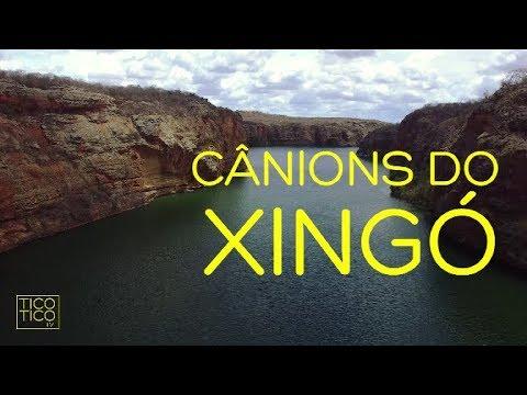 Cânions do Xingó com drone   Rio São Francisco, Sergipe/Alagoas, Brasil