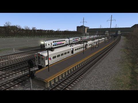 Train Simulator 2017 HD: GE Arrow III EMU on NJ Transit NEC Line Train 7859 (NYP-Trenton)
