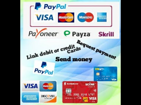 How To Link Your Bank Card, Bank Account, Send And Request Money With Paypal 2020