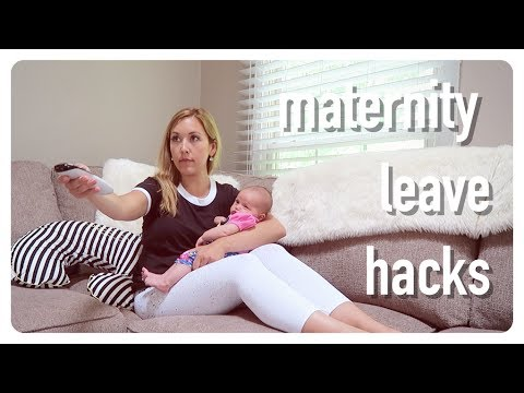 maternity leave hacks | newborn mommy tips