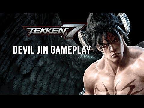 DEVIL JIN GAMEPLAY - TEKKEN 7 (PS4)