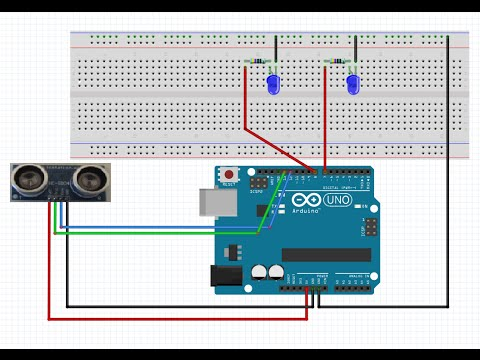 Arduino Distance Sensor How to Build - Home DIY