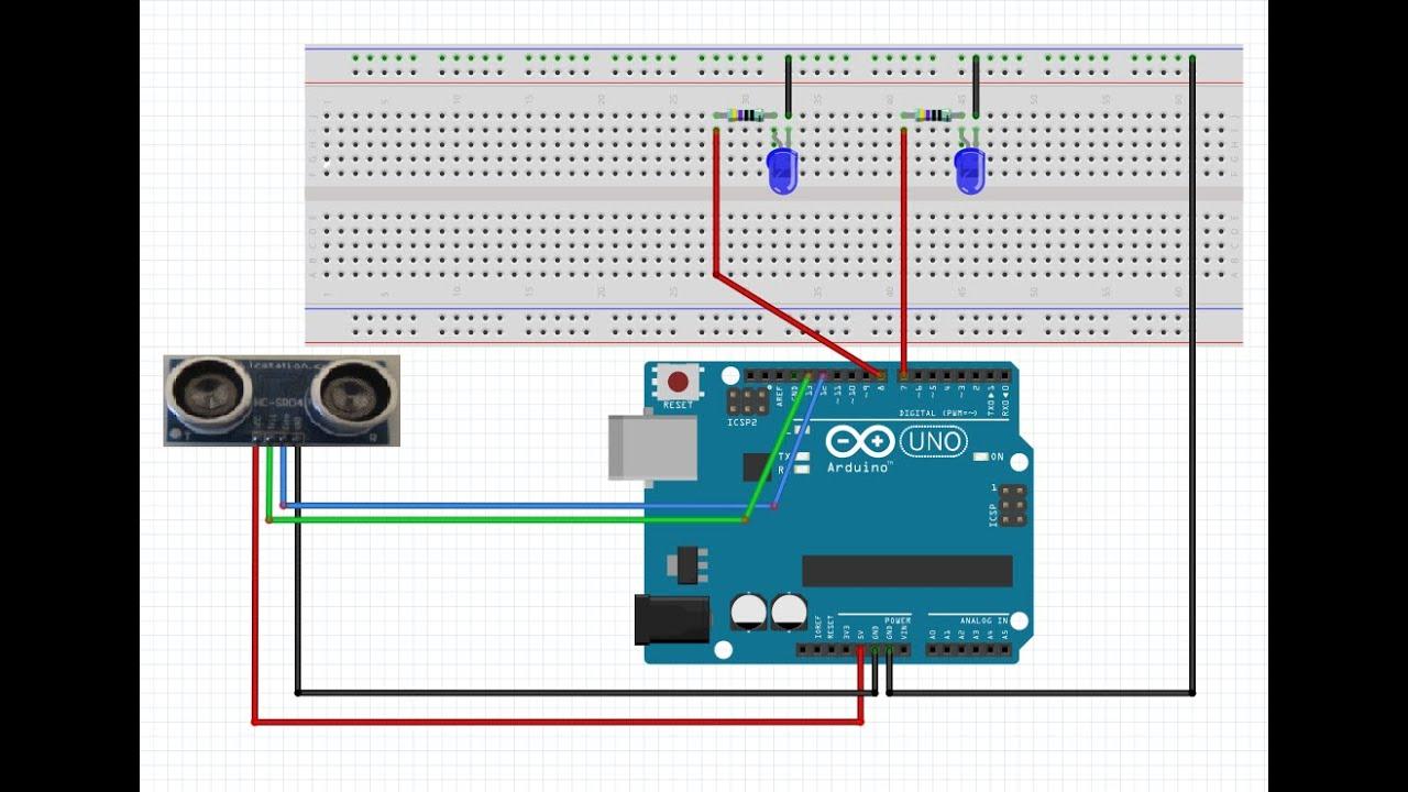 Arduino tutorial ultrasonic sensor doovi