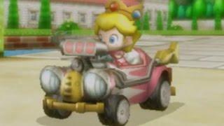 Mario Kart Wii - Mirror Lightning Cup Grand Prix (Baby Peach Gameplay)