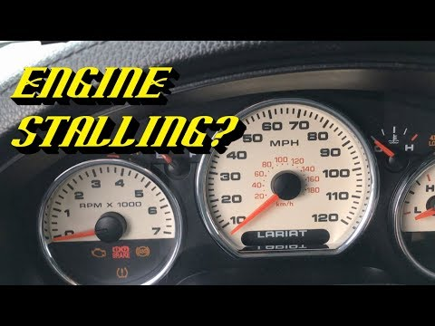 Ford 5.4L 3v Triton Engines Stalling at Stops: Free Fix to Get You Home!