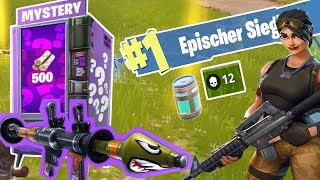 Fortnite 12 KILLS + 800 Metall für 2 RAKETENWERFER | Battle Royale