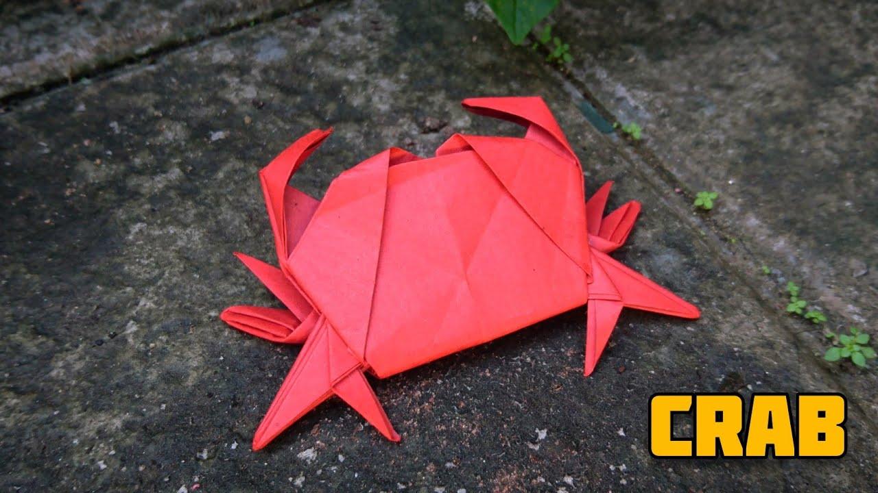 CRAB | RED CRAB | ORIGAMI CRAB | Origami tutorial by Magic Folds