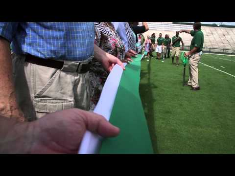 The Resurgence of the Stetson Mens Football Team with Spec Martin Stadium Ribbon Cutting 2013!