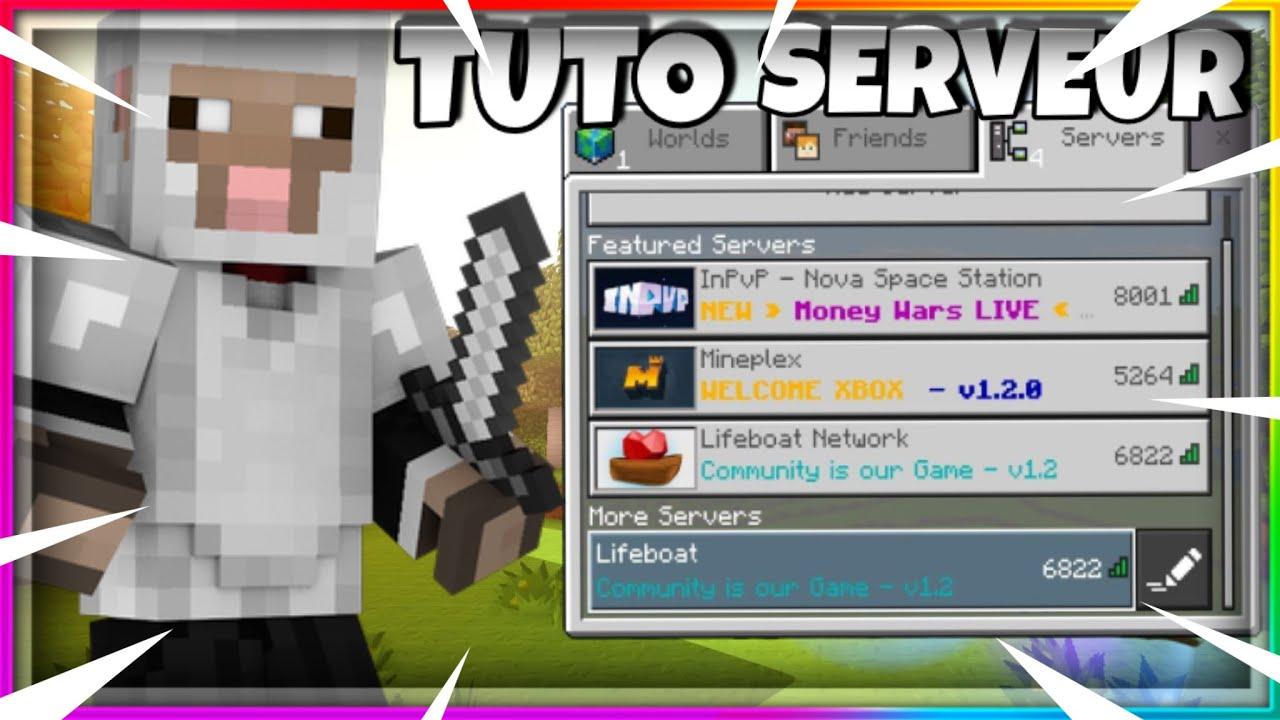 Comment Avoir Des Serveur Minecraft Ps4