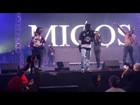 "Migos ""Ice Tray"" With Lil Yachty Live @ Rolling Loud 2017"