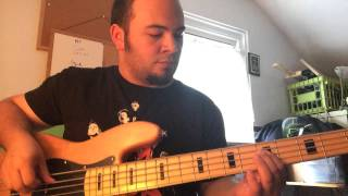 Fascination by Alphabeat bass cover