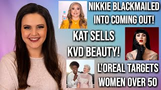 What's Up in Makeup NEWS! Nikkie Tutorials Blackmailed! Kat Von D Quits Her Brand and MORE!