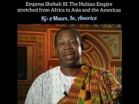 African empire stretched from Asia to America