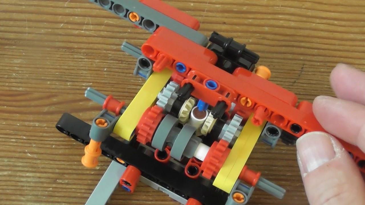 Building Lego Technic Rough Terrain Crane SET 42082 PART 1