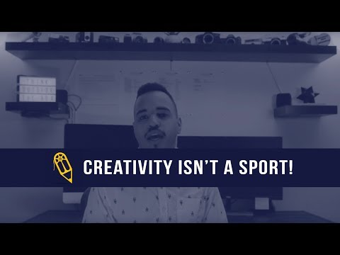 Creativity isn't a sport! (don't compete against each other, create together)