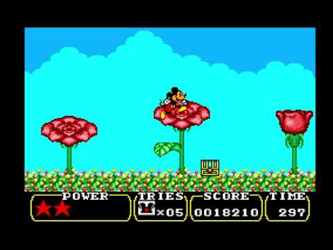 [TAS] SMS Land Of Illusion: Starring Mickey Mouse By The8bitbeast In 22:48.28