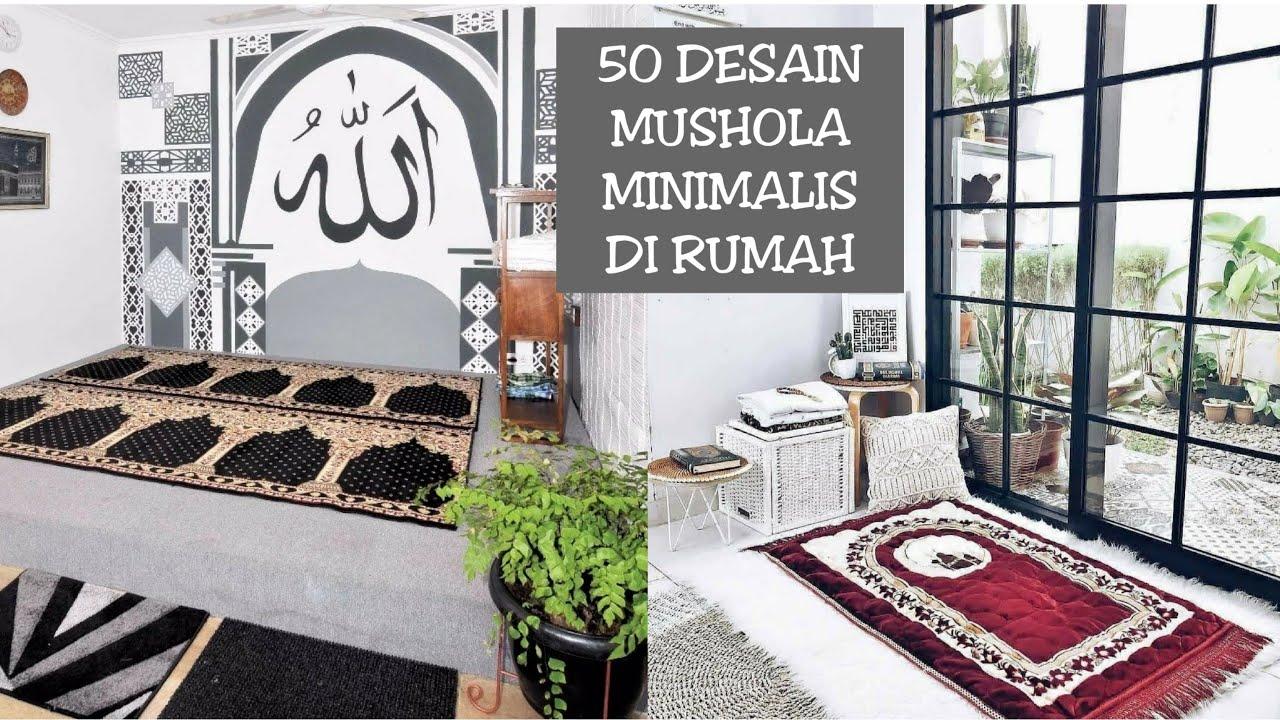 50 Desain Mushola Minimalis Di Rumah Youtube