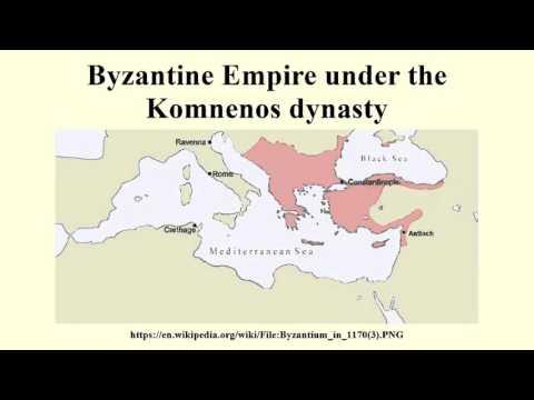 Byzantine Empire under the Komnenos dynasty