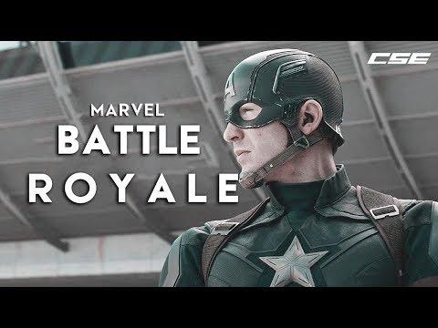 Marvel - Battle Royale | Apashe Battle Royale Marvel Version | Creative Studio Entertainment