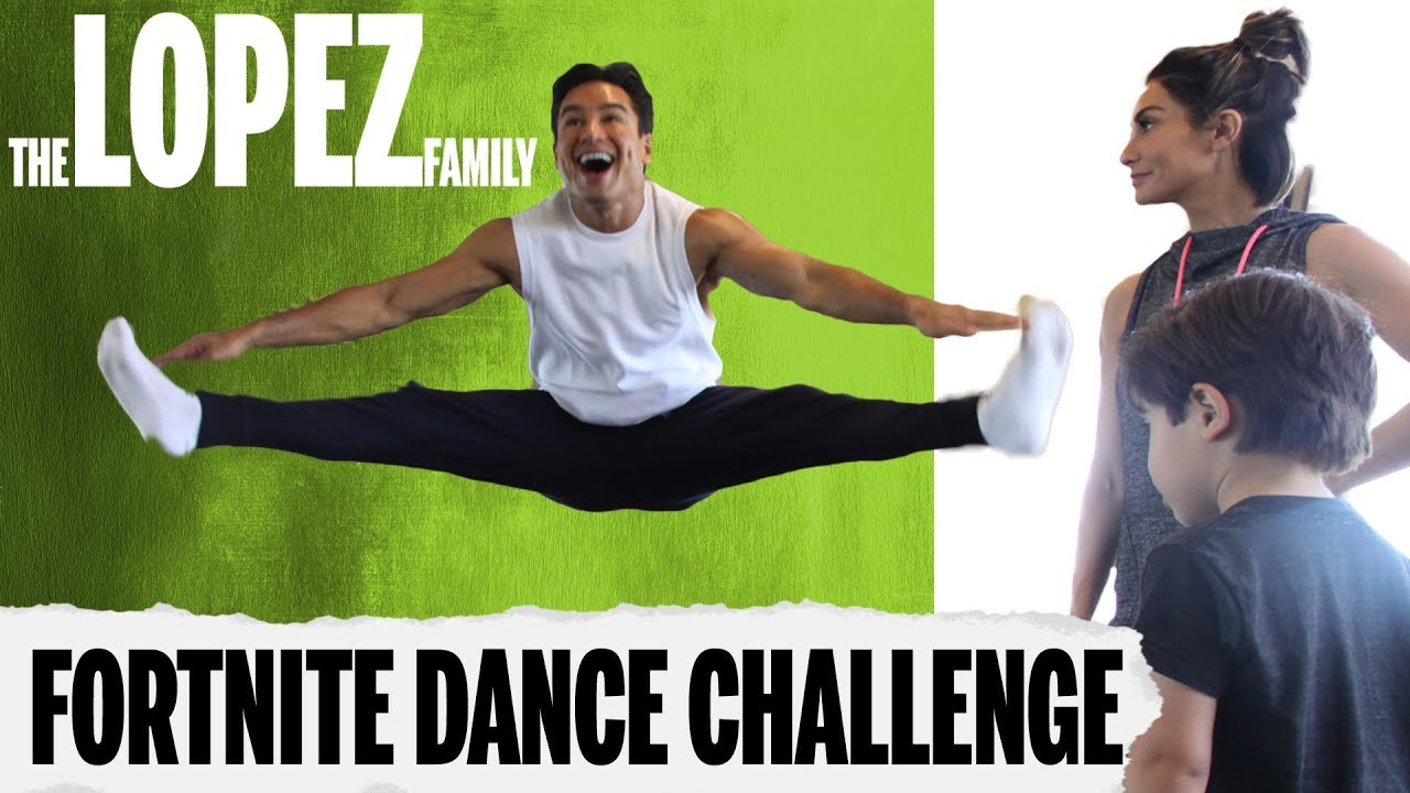 The Lopez Family Accept The Fortnite Dance Challenge Youtube