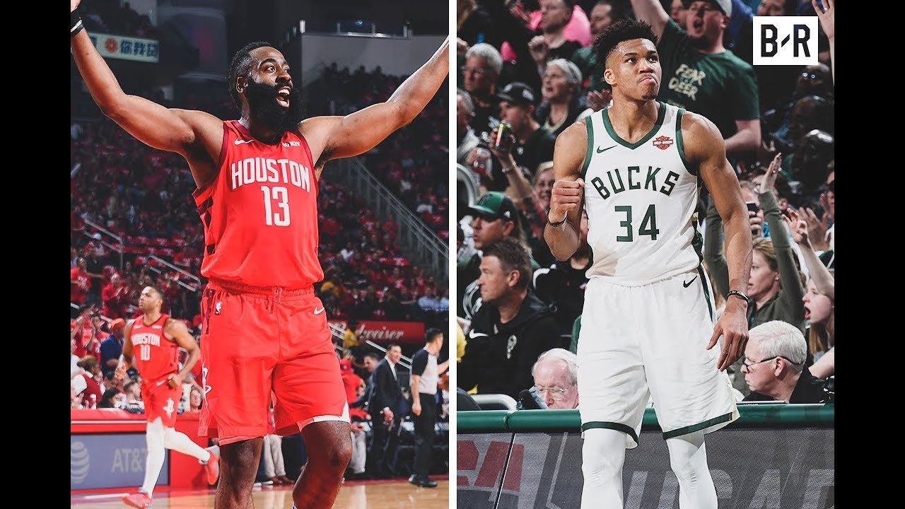 James Harden and Giannis Antetokounmpo Lead Big Game 2 Wins | MVP Quest Doesn't Sleep In Playoffs